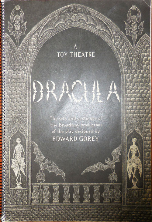 Dracula A Toy Theater. Edward Gorey.