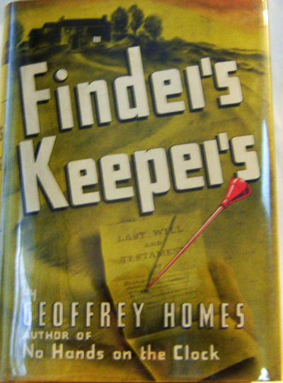 Finder's Keepers. Geoffrey Mystery - Homes.