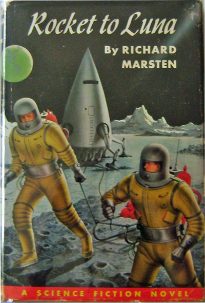 Rocket To Luna. Richard Science Fiction - Marsten.