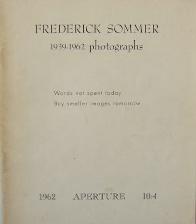 1939 - 1962 Photographs. Frederick Photography - Sommer.