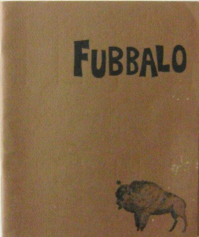 Fubbalo Volume 1 Number 1. Charles Olson, Ed, Dorn, LeRoi, Jones.