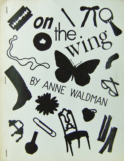 Highjacking and On The Wing. Lewis Warsh, Anne Waldman.