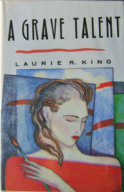 A Grave Talent (Inscribed, Edgar Award Winner). Laurie R. Mystery - King.