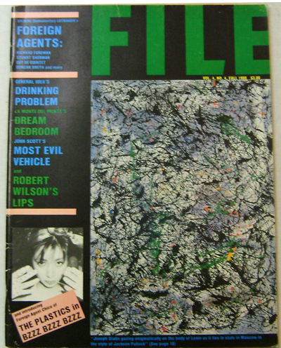 File Magazine Volume 4 Number 4. Art Magazine - General Idea.