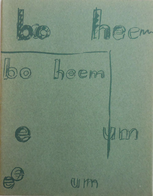 Bo Heem E Um No. 3; An Explosion Without A Fuse - Charles Verey. Thomas A. Clark, Charles Verey.