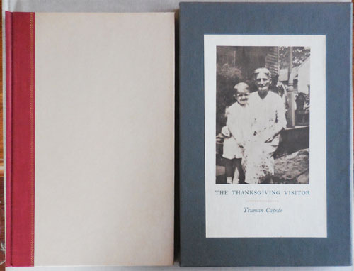 The Thanksgiving Visitor (Signed). Truman Capote.