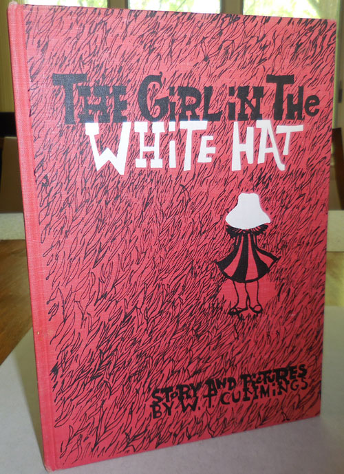 The Girl In The White Hat (Inscribed). W. T. Children's - Cummings.