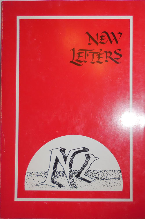 New Letters Fall 1986 Volume 53 Number One. James McKinley, Alfred Starr Hamilton Franz Wright, Sarah Gorham, Marge Piercy.