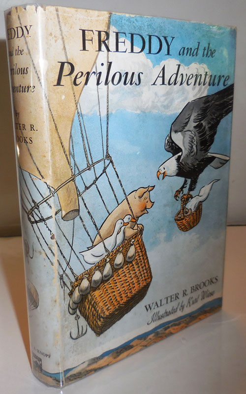 Freddy and the Perilous Adventure. with, Kurt Wiese.