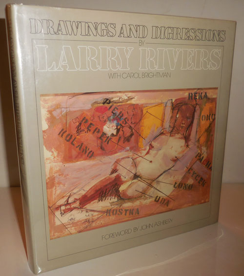 Drawings and Digressions (Signed Copy). Larry Art - Rivers.
