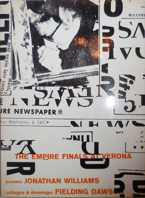 The Empire Finals At Verona (Inscribed by Williams). JOnathan illiams, Fielding Dawson.