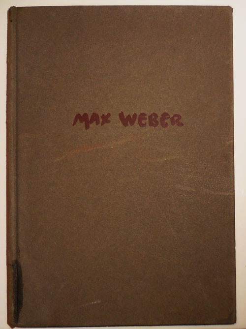 Max Weber (Inscribed by Weber). Holger Art - Cahill, Max Weber.
