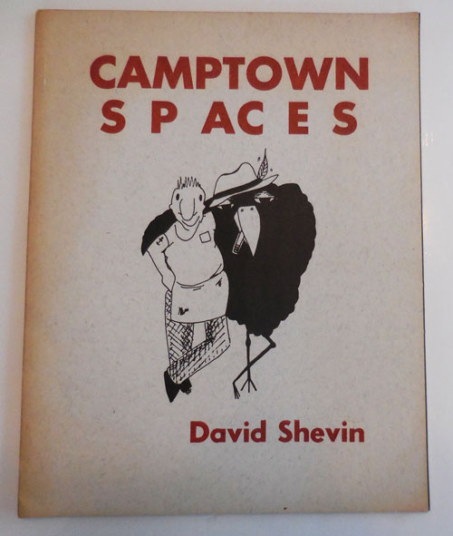 Camptown Spaces (Inscribed to Fellow Poet with Typed Postcard). David Shevin.