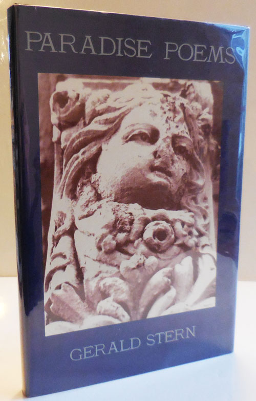Paradise Poems (Inscribed). Gerald Stern.
