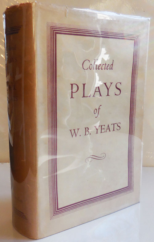 Collected Plays. W. B. Yeats.