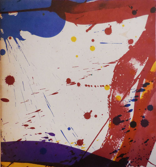 Sam Francis Exhibition of Drawings and Lithographs. Sam Art - Francis.