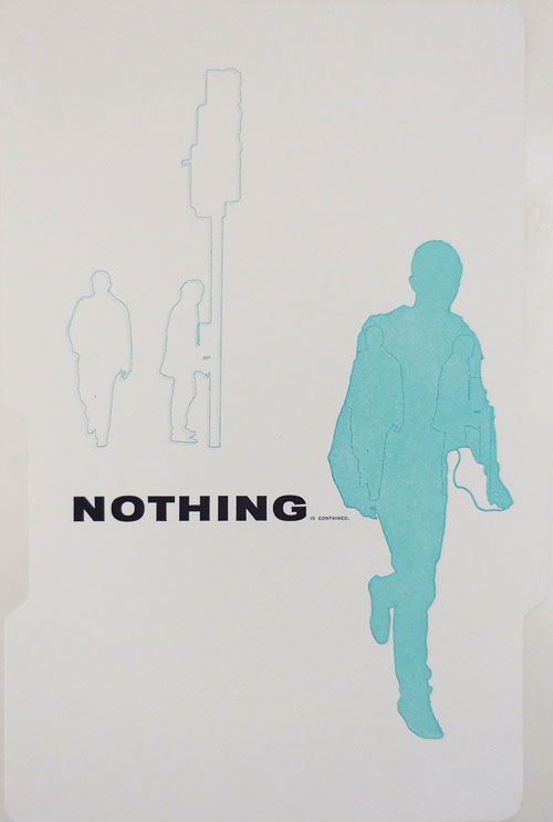 Nothing Is Contained (Signed Limited Artist Multiple). Emily Artist Multiple - McVarish.