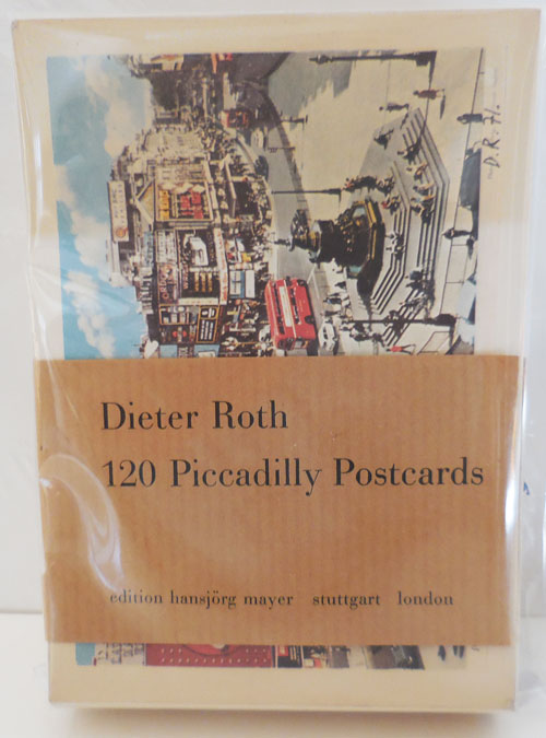120 Piccadilly Postcards. Dieter Artist Postcards - Roth.