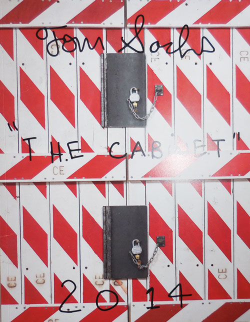 The Cabinet 2014. Tom Artist Book - Sachs.