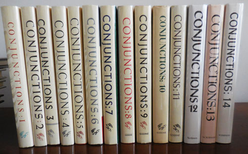 Conjunctions Issues 1 -14 (Several Signed by Jonathan Williams). Bradford Morrow.