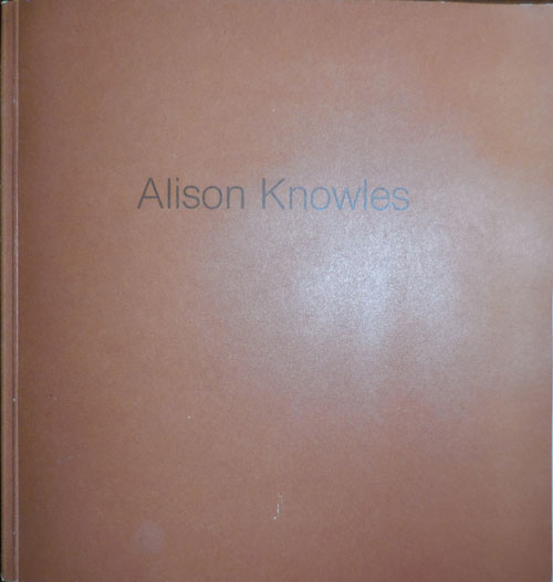 Alison Knowles Um-laut (Inscribed by Artist). Alison Art - Knowles.