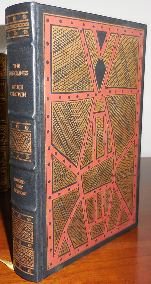 The Songlines (Signed Leatherbound Edition). Bruce Chatwin.