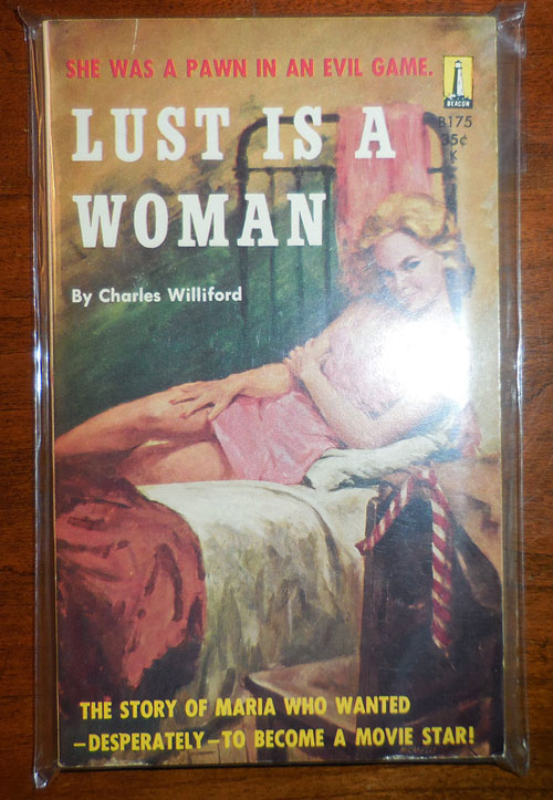 Lust Is A Woman. Charles Williford, Willeford.