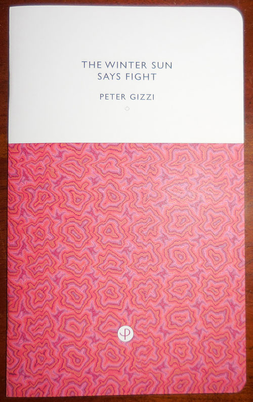 The Winter Sun Says Fight (Signed). Peter Gizzi.