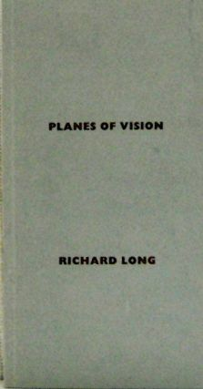 Planes Of Vision. Richard Artist Book - Long
