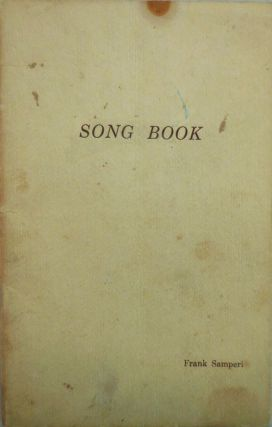 Song Book. Frank Samperi
