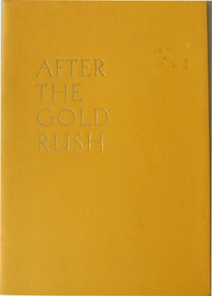 After The Gold Rush. Hilton Als.