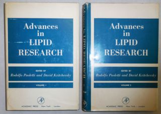 Advances in Lipid Research Volumes I and II. Rudolfo Paoletti, Co- Kritchevsky
