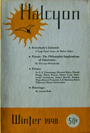 Halcyon Winter 1948. E. E. Cummings, James, Merrill, Howard, Nemerov