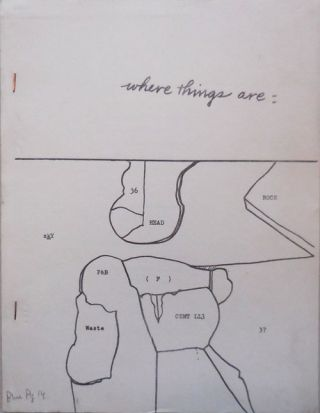 Where Things Are (Blue Pig #14). Clark Coolidge, Anselm, Hollo, John, Giorno