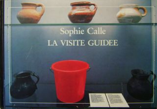 La Visite Guidee (Inscribed). Sophie Photography - Calle