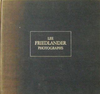 Photographs. Lee Photography - Friedlander