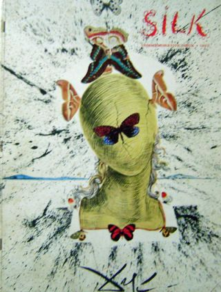 Silk Commemorative Issue 1957. Salvador Fabric - Dali, Contributors, Andy, Warhol