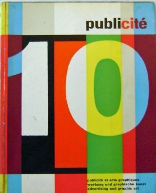 Publicite # 10; Publicite Et Arts Graphiques / Werbung und Graphische Kunst / Advertising and...