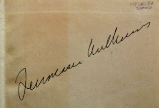 A Streetcar Named Desire (Signed)