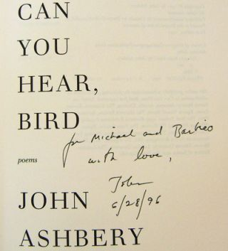 Can You Hear, Bird (Inscribed)