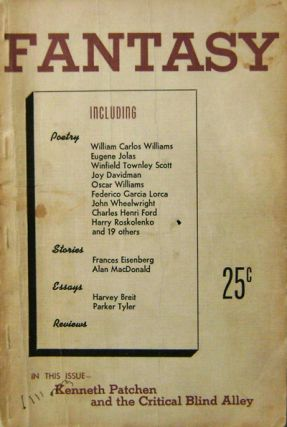 Fantasy A Literary Quarterly Sixth Year Number Four. William Carlos Williams, Henry, Treece,...