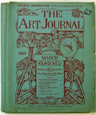 The Art Journal April and May 1905 Issues. Frank Rinder Sir Edward Burne-Jones, William Monk,...