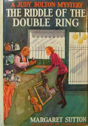 The Riddle of the Double Ring; Judy Bolton Mystery #10. Margaret Children's Mystery Series -...