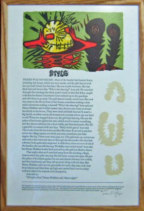 Style (Signed Broadside). Tim O'Brien