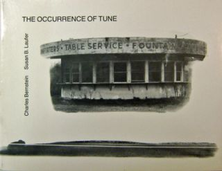 The Occurence Of Tune (Signed by Both). Charles Bernstein, Susan B. Laufer.