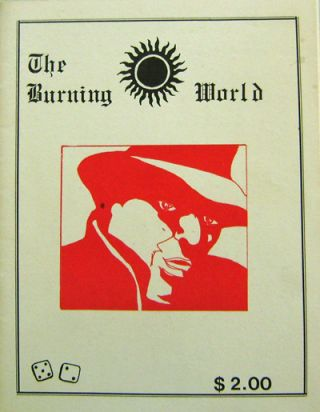 The Burning World #7. Michael Kolhoff, Allen Ginsberg Charles Bukowski, Diane Wakoski