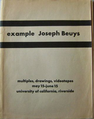 """Some artists, for example Joseph Beuys"" Joseph Art - Beuys"