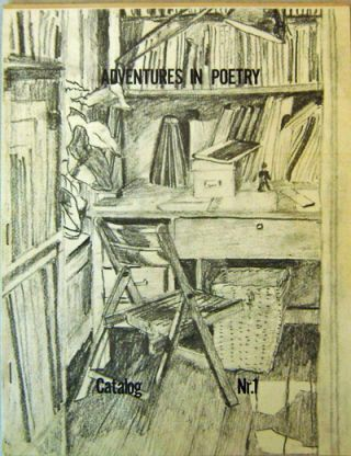 Adventures In Poetry Catalog Nr. 1. Joe Ceravolo, Frank, O'Hara, Godfrey Bill Berkson, John, Larry Fagin.