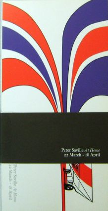 Peter Saville - At Home. Peter Design - Saville
