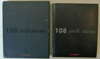 108 Small Stories. Manjunath Artist Book - Kamath